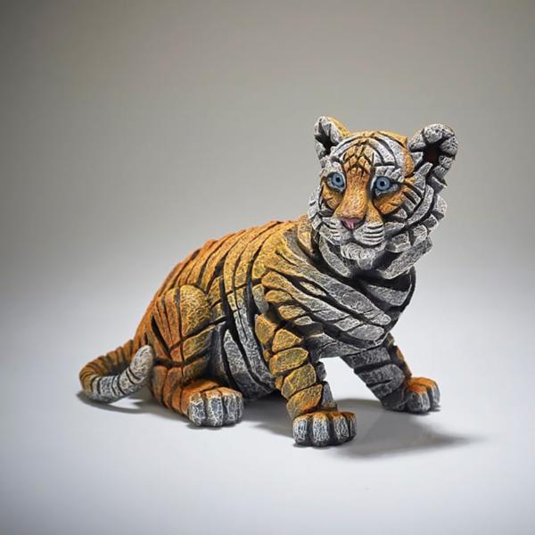 Edge Sculpture Tiger Cub Side 2