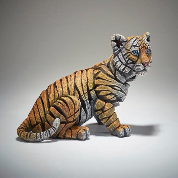 Edge Sculpture Tiger Cub Side