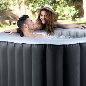 Enjoy the bubbles with a MSpa Delight Alpine Inflatable Hot Tub