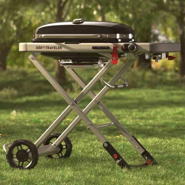 Enjoy the outdoors with The Weber Traveler