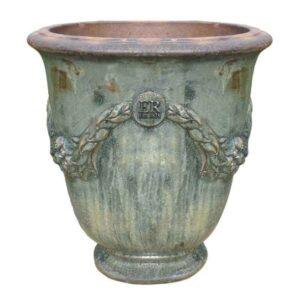 Errington Reay Courtyard Garland Urn in Stone