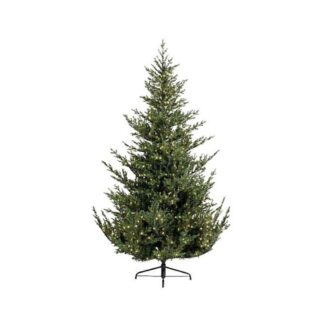Everlands Norway Spruce Artificial Pre-Lit Christmas Tree