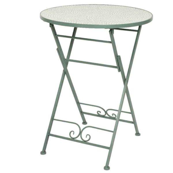 Eze Iron Bistro Table
