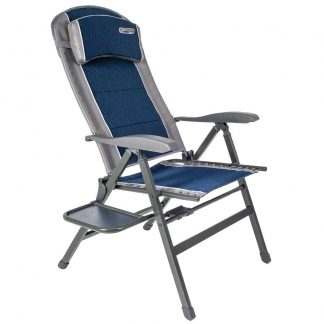 Quest Ragley Pro Comfort Chair in Blue with Side Table