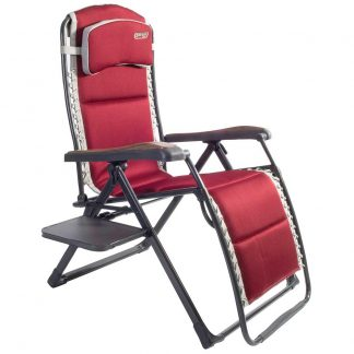 Quest Bordeaux Pro Relax XL Chair with Side Table