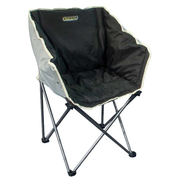 Quest Autograph Kent Chair in Black and Grey