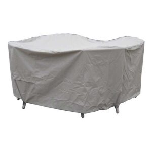 Bramblecrest Cover for 120cm Round Table Set in Khaki