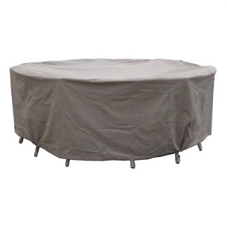 Bramblecrest Cover in Khaki for 150cm Round Table Set