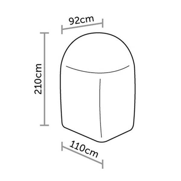 Bramblecrest Hanging Cocoon Cover DImensions