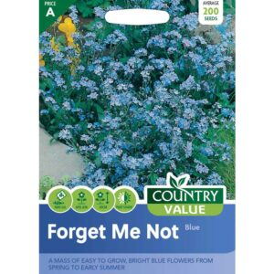Country Value Forget Me Not Blue Seeds