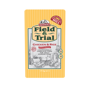 Skinner's Pet Food Field & Trial Chicken & Rice - Hypoallergenic for Adult Working Dogs (15kg)