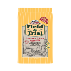 Skinner's Field & Trial Chicken & Rice - Hypoallergenic for Adult Working Dogs (2.5kg)