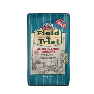 Skinner's Pet Food Field & Trial Duck & Rice - Hypoallergenic for Working Dogs (15kg)