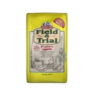 Skinner's Pet Food Field & Trial Puppy for Puppies & Young Working Dogs (15kg)