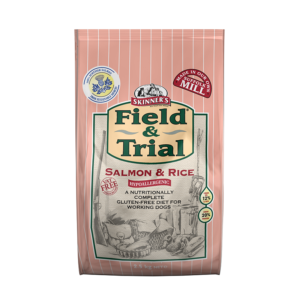 Skinner's Field & Trial Salmon & Rice - Hypoallergenic Food for Working Dogs (2.5kg)