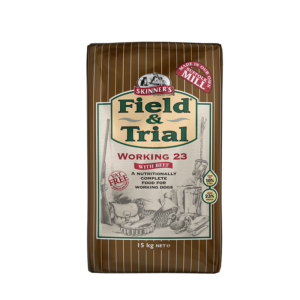 Skinner's Pet Food Field & Trial Working 23 with beef for Working Dogs (15kg)