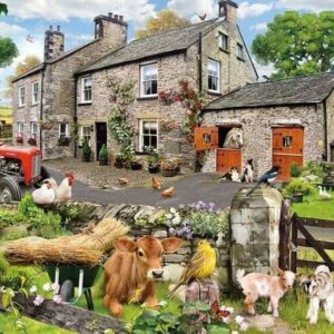 Gibsons Farmyard Friends 100 XXL Piece Jigsaw Puzzle