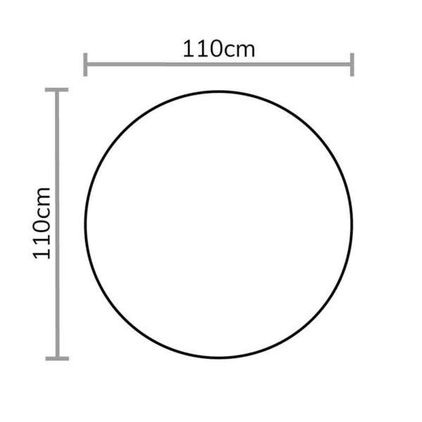 Footprint for Bramblecrest Tetbury Single Cocoon in Nutmeg