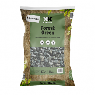 Kelkay Chippings - Forest Green Chippings (Large Pack)