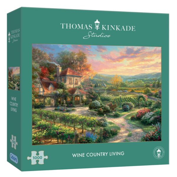 Gibsons Wine Country Living 1000 Piece Jigsaw Puzzle