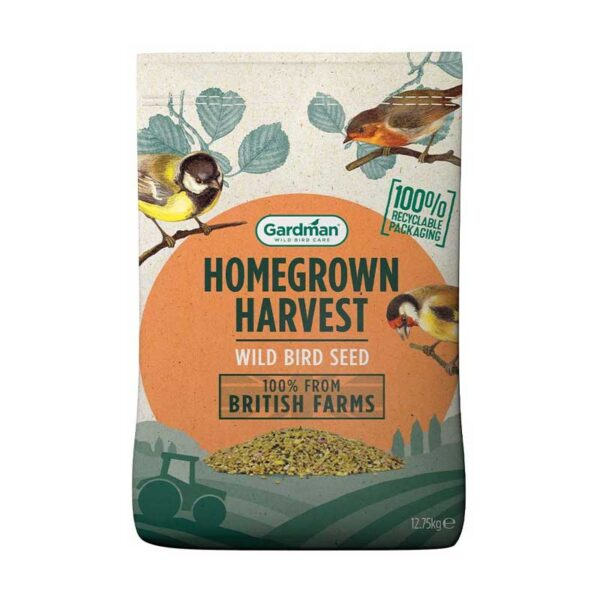 Gardman Homegrown Harvest Wild Bird Seed (12.75kg)