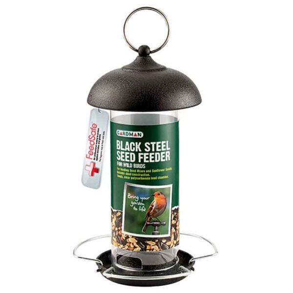 Gardman Black Steel Seed Feeder