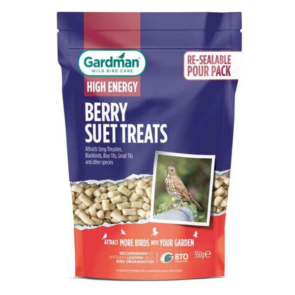 Gardman High Energy Berry Suet Treats (550g)