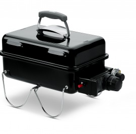 1141004A14 2014 Weber Go Anywhere Gas Grill LP Black EU Product Facing Left
