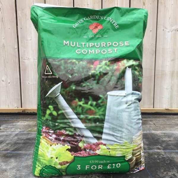 Gates Garden Centre Multi-Purpose Compost (50 litres)