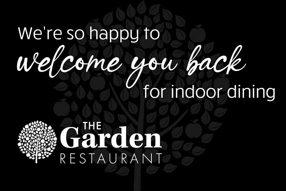 Welcome back to inddor dining at Gates Garden Centre