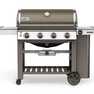 Weber Genesis II E-410 GBS Gas Grill Barbecue (Smoke Grey)