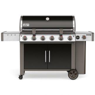 Weber Genesis II LX E-640 GBS Gas Grill Barbecue (Black)