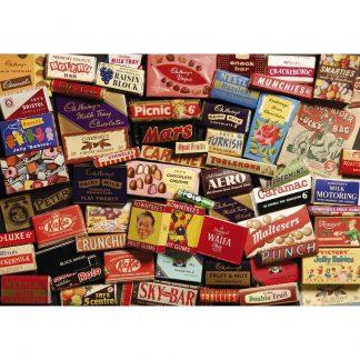 Gibsons 1950s Sweet Memories 500 Piece Jigsaw Gift Tin