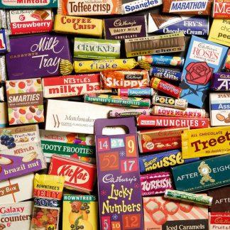 Gibsons 1960s Sweet Memories 500 Piece Jigsaw Gift Tin