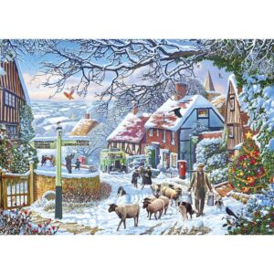 Gibsons A Winter Stroll 1000 Piece Jigsaw