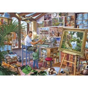 Gibsons A Work Of Art Jigsaw
