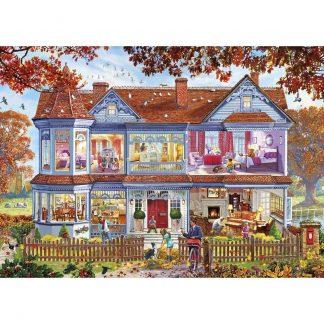 Gibsons Autumn Home 500 XL Piece Jigsaw