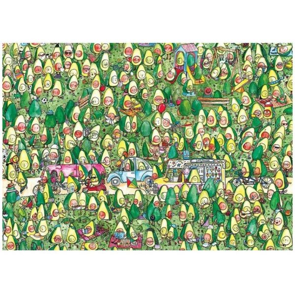 Gibsons Avocado park 250 Piece Childrens Jigsaw Puzzle