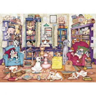 Gibsons Bark's Books 1000 Piece Jigsaw
