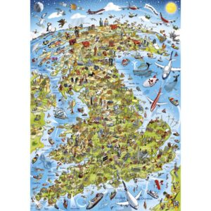 Gibsons Best Of British 1000 Piece Jigsaw