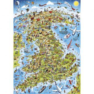 Gibsons Best Of British 1000 Piece Jigsaw