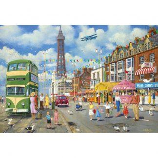 Gibsons Blackpool Promenade 500 Piece Jigsaw