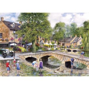 Gibsons Bourton On The Water 1000 Piece Jigsaw