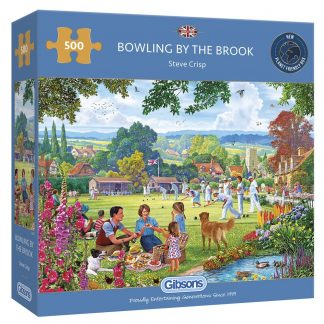 Gibsons Bowling By The Brook 500 Piece Jigsaw