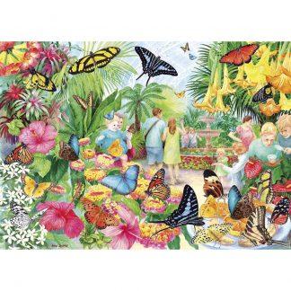 Gibsons Butterfly House 1000 Piece Jigsaw
