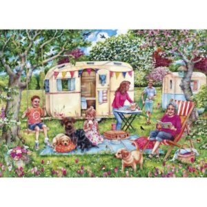 Gibsons Caravan Escapes 1000 Piece Jigsaw