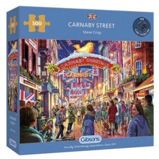 Gibsons Carnaby Street 500 Pieces Jigsaw Puzzle Box