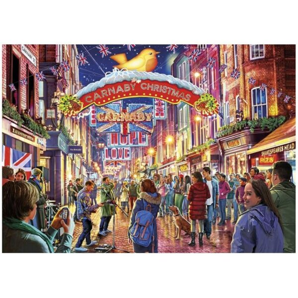 Gibsons Carnaby Street 500 Pieces Jigsaw Puzzle