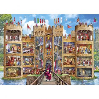 Gibsons Cutaway Castle 1000 Piece Jigsaw
