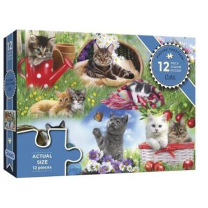 Gibsons Cats 12 Piece Jigsaw Puzzle Box